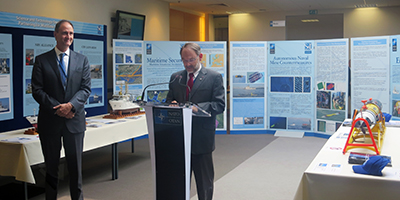 CMRE Showcases at the NATO HQ