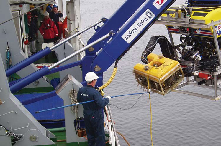Recovered Russian ROV