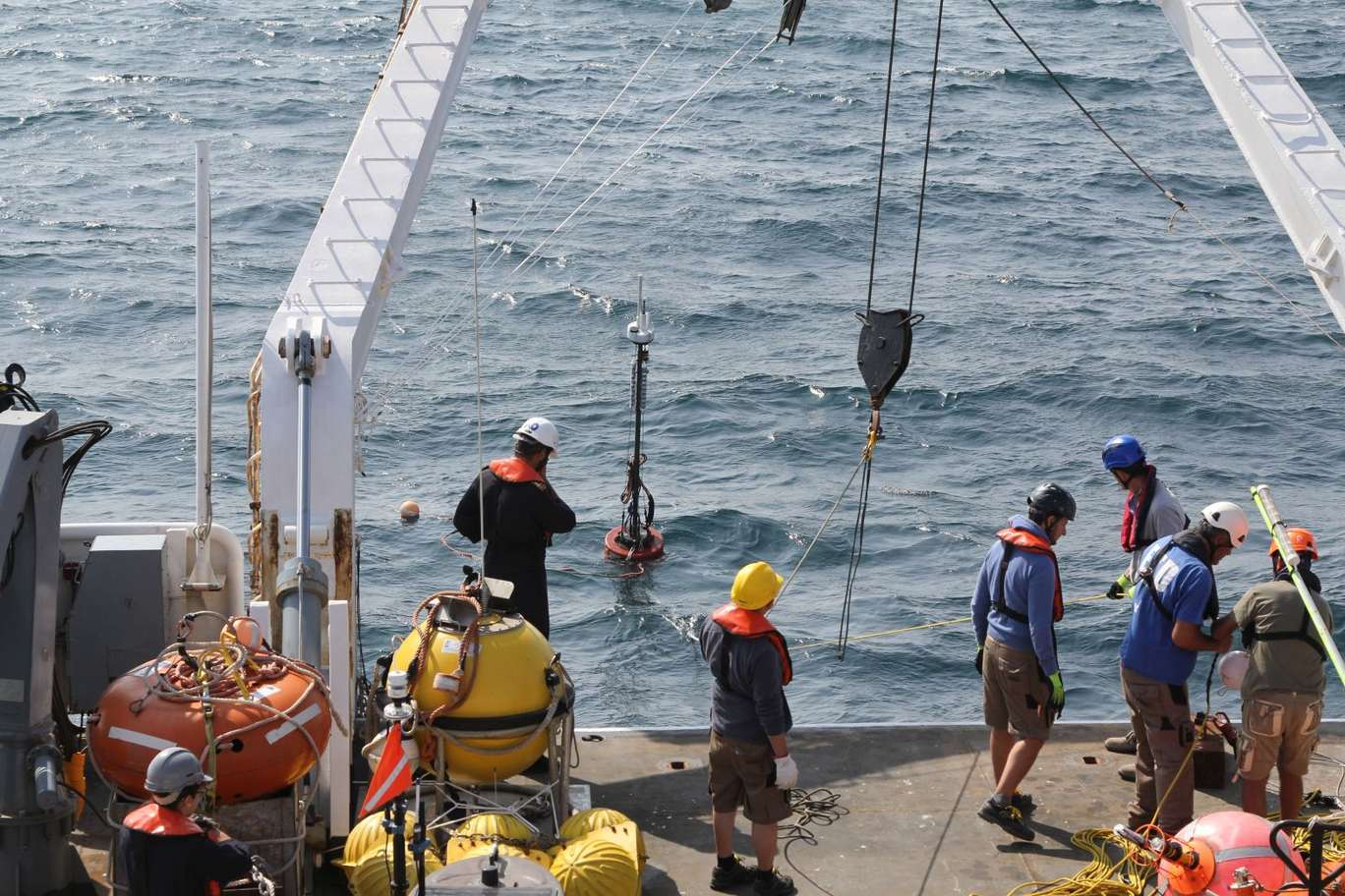 CMRE tests innovative solution for underwater acoustic networks during REP18