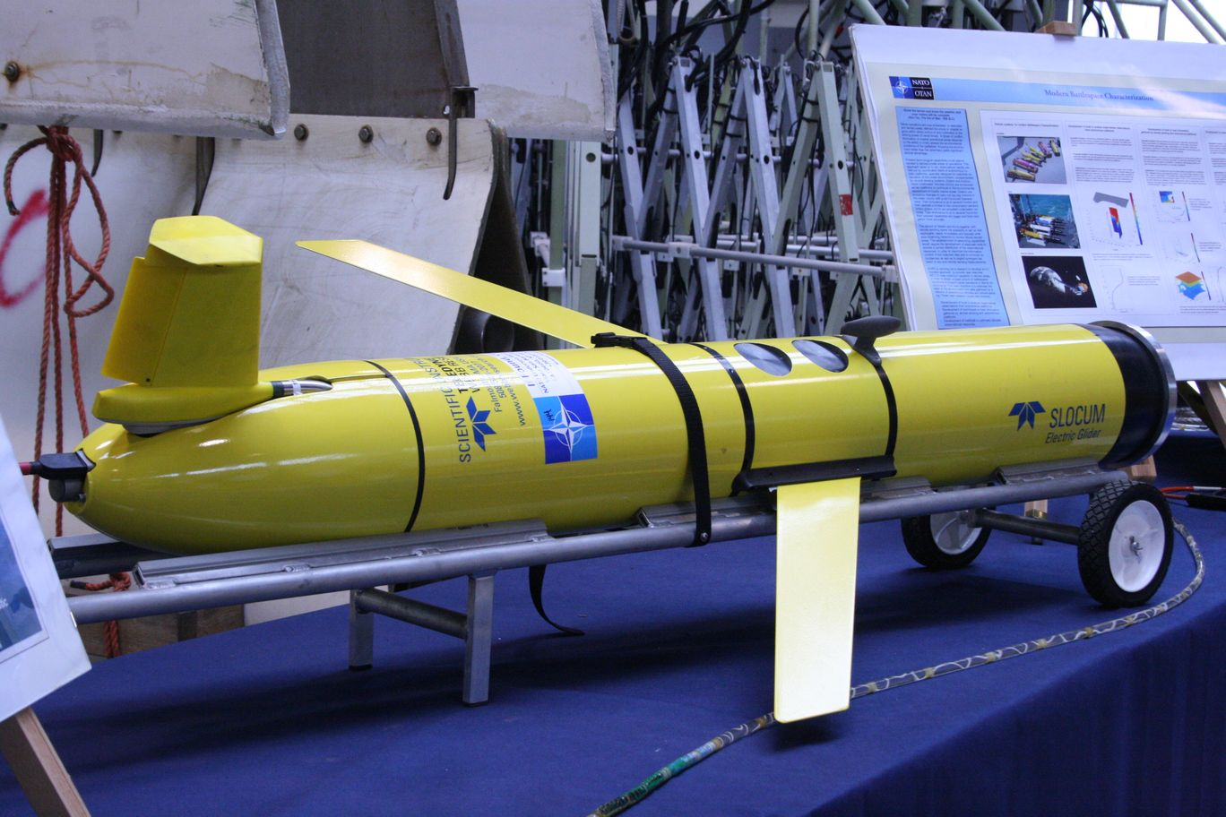 CMRE organizes the 5th Workshop on Military Applications of Underwater Glider Technology
