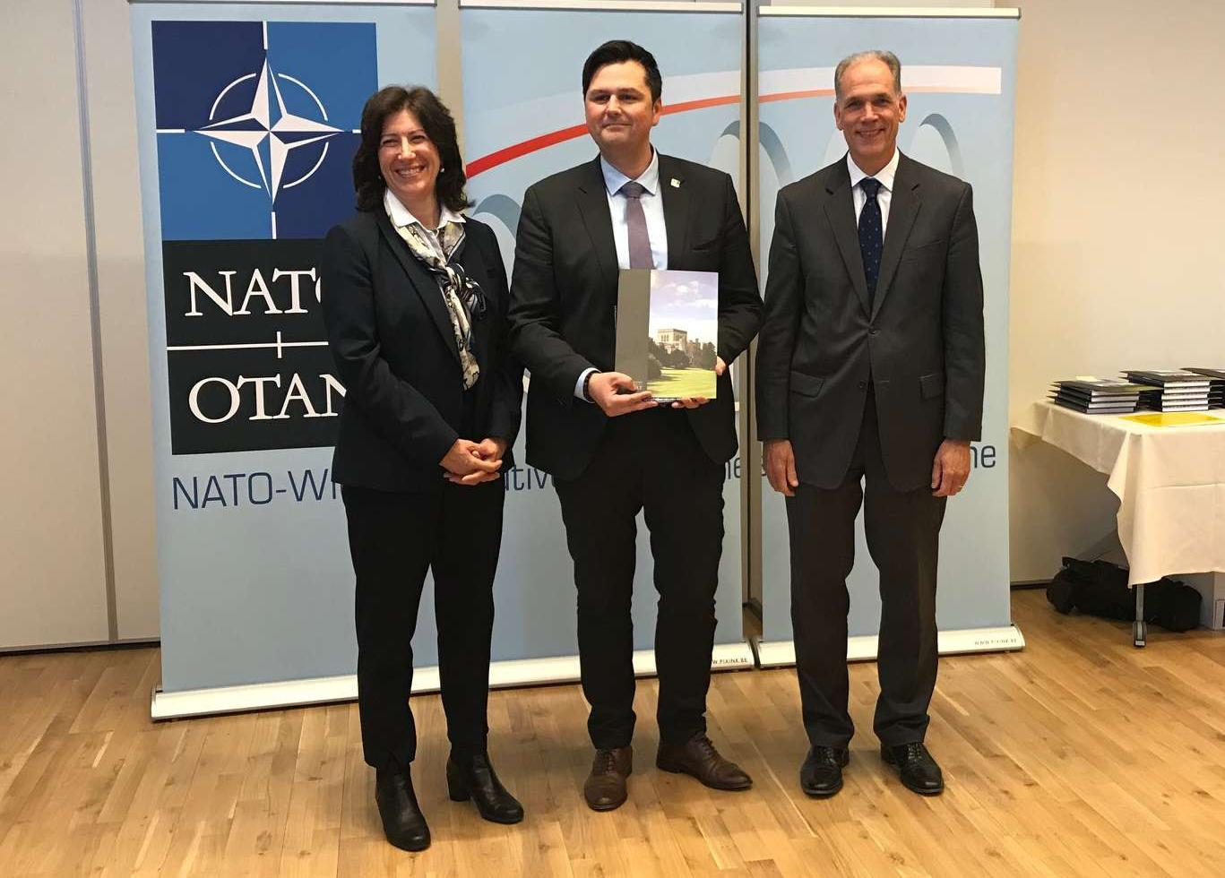 CMRE scientist graduated from the 10th edition of the NATO Executive Development Program